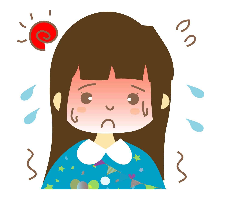 熱中症の子ども