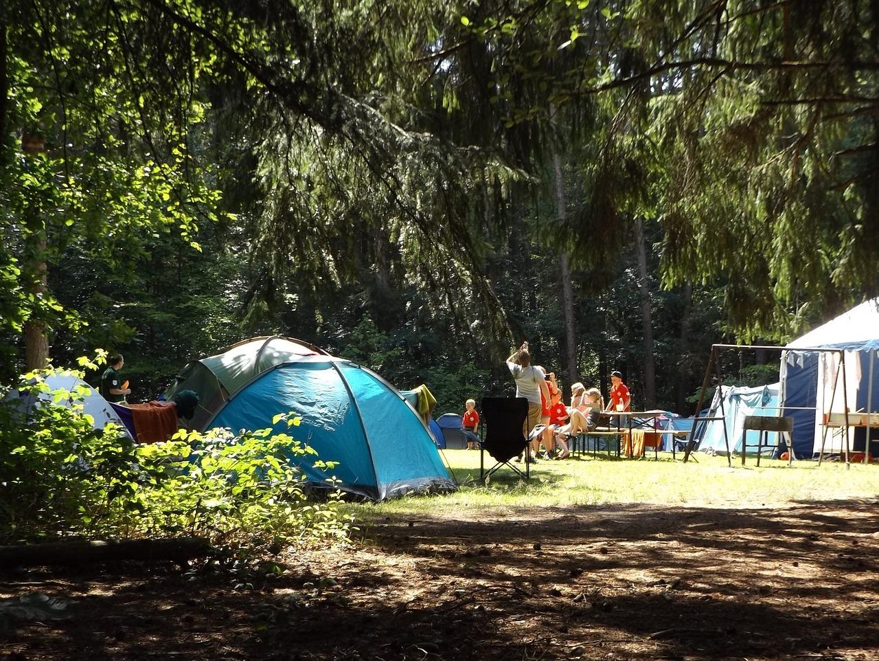 子供と夏休みキャンプ