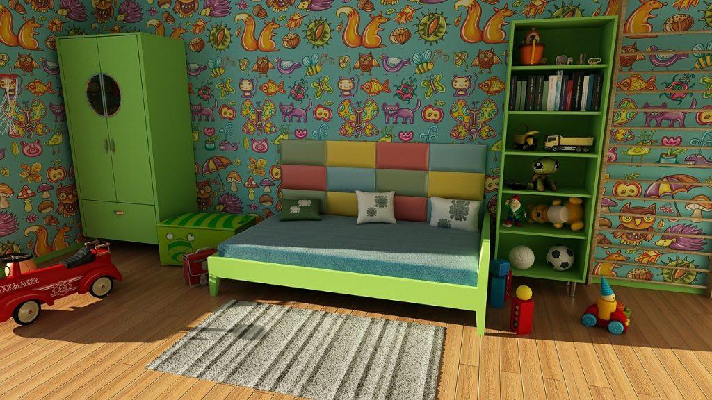 子供の室内の遊び