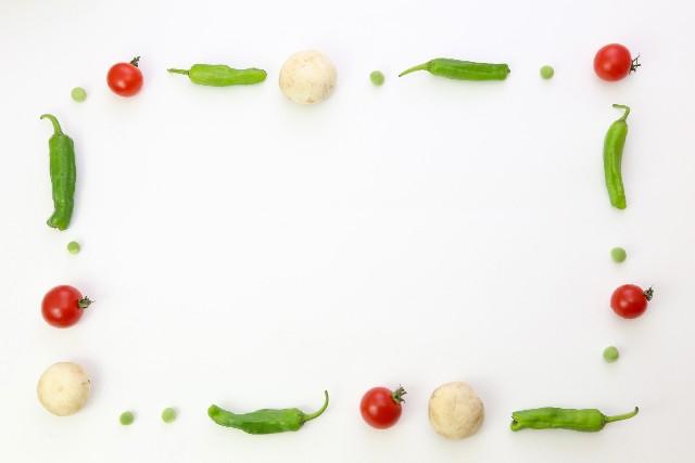 生野菜の料理